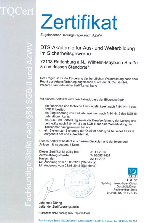 Presse / Referenzen – DTS-Selbstverteidigung